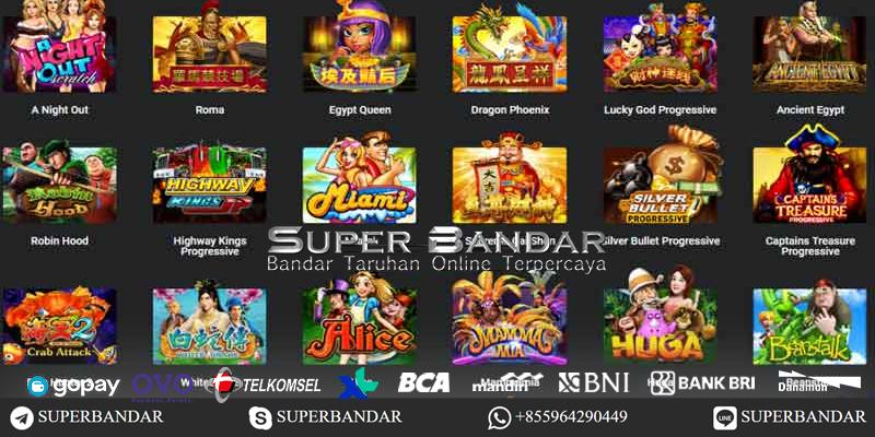 SBOBET Games Slot